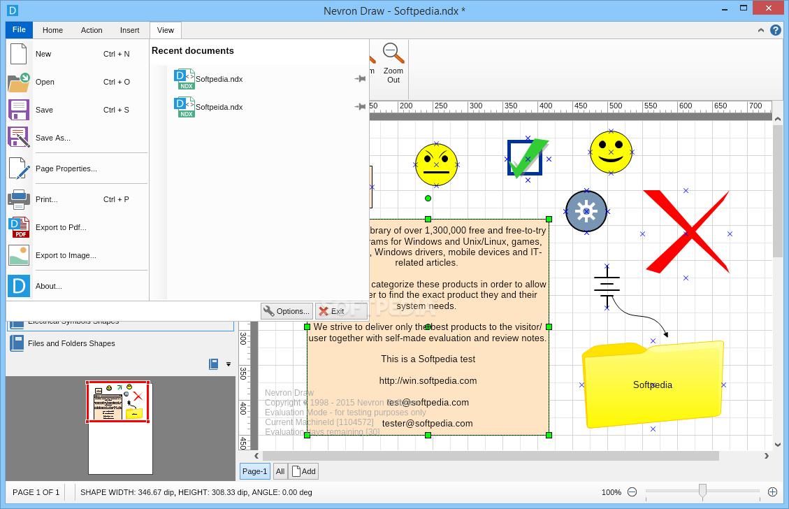 uml editor nevron draw screenshot 7 - Uml Editors