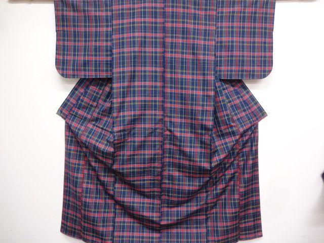 Yonezawa tsumugi, woven grid :3