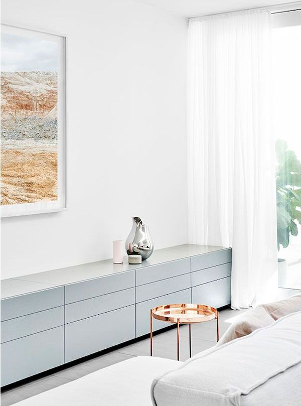baby blue console #springtrend #apartment34