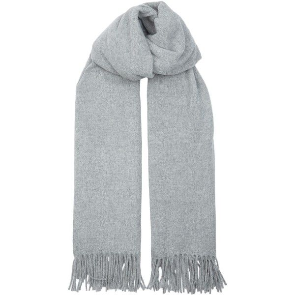 500518f8e09f Acne Studios Canada Oversized Scarf (615 BRL) ❤ liked on Polyvore featuring  accessories,