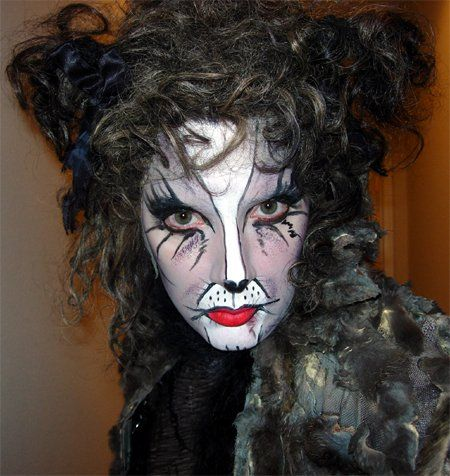 Grizabella full costume and makeup