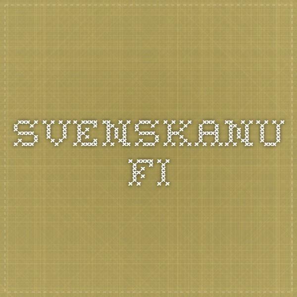svenskanu.fi -paljon koottuja harjoituksia, kuunteluja ja linkkejä oppilaille ruotsinkielen ...