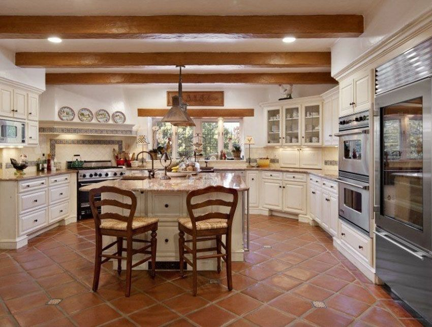23 Beautiful Spanish Style Kitchens Design Ideas  Spanish Tile Unique Kitchen Interior Design Ideas Inspiration