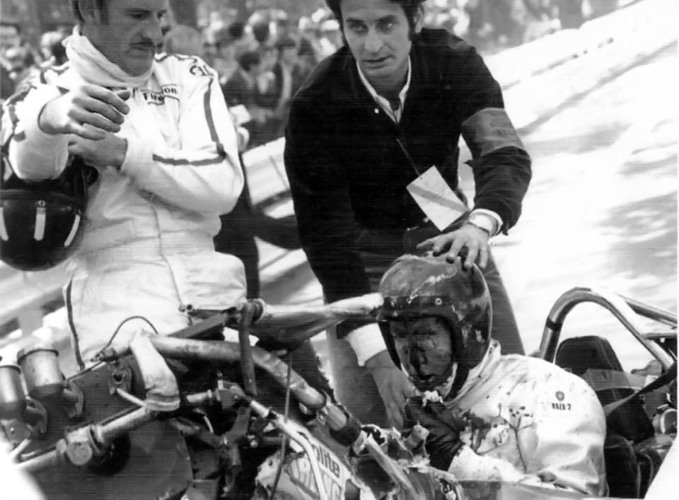 Jochen rindt crash jim clark and lotus 49 the spanish for A peter james salon