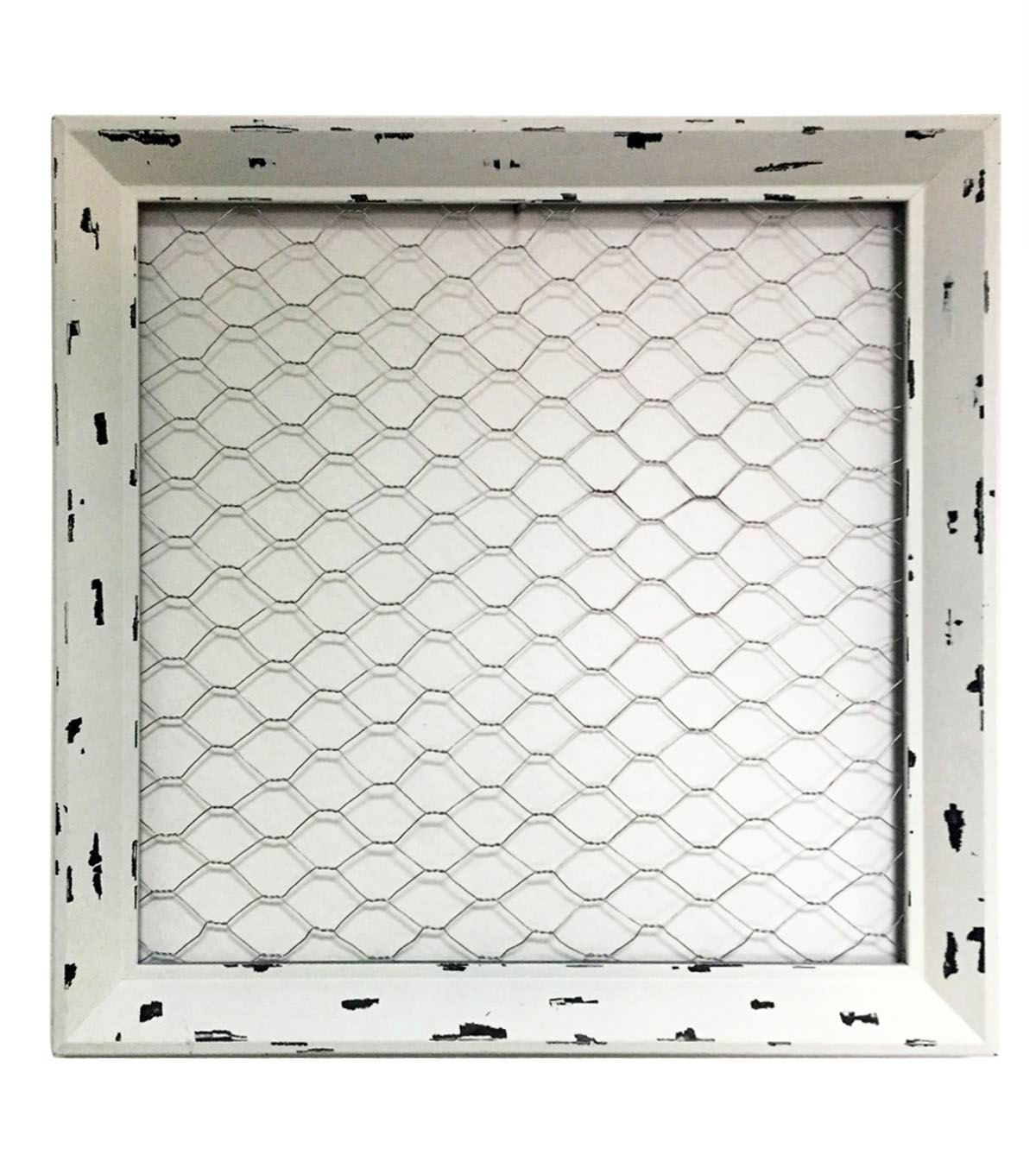 Fab Lab™ Chicken Wire Frame-White | Top Products: Can\'t Live Without ...