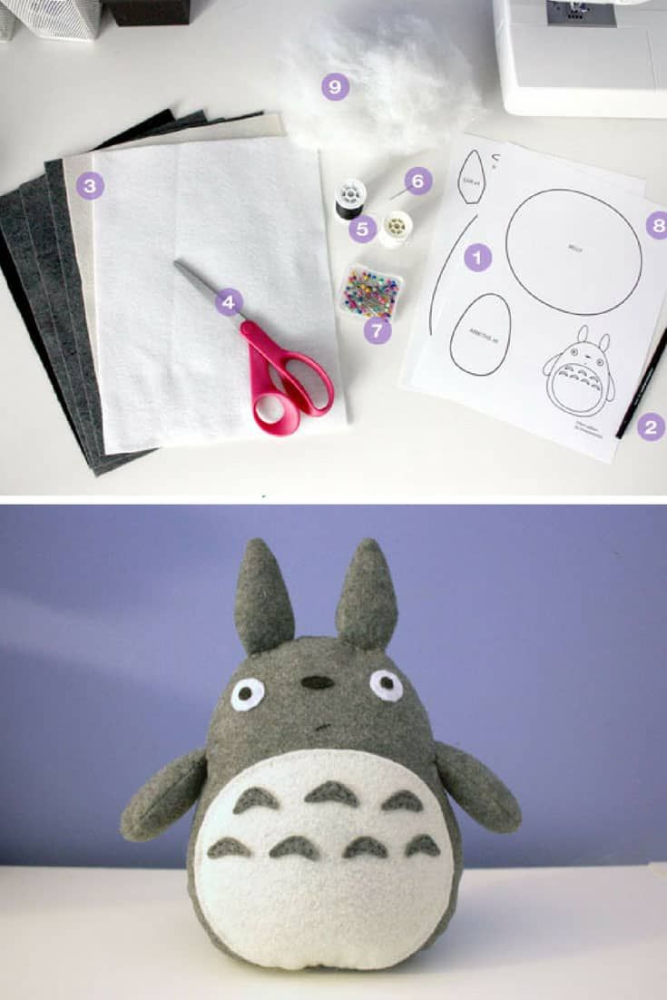 33 Super Cute Felt Toy Patterns Your Kids Will Love to Play With!