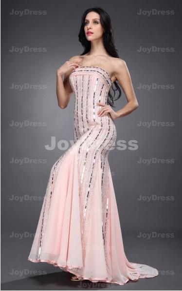 Buy dresses from joydress.co.uk  Sequin Sheath Strapless Floor-length Dress  £84.00