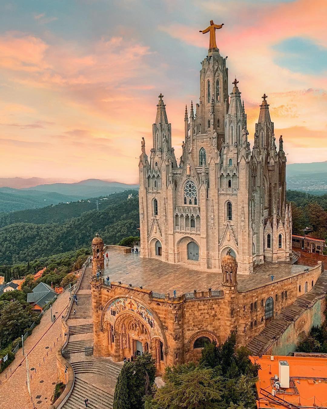 Temple Del Sagrat Cor #Barcelona #Spain #Trip #Travel