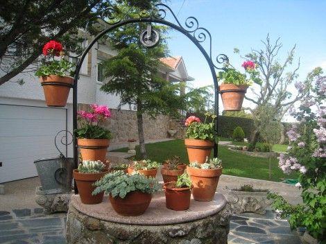 Pozos Decorativos Para Jardin En 2019 Decoración De Jardín