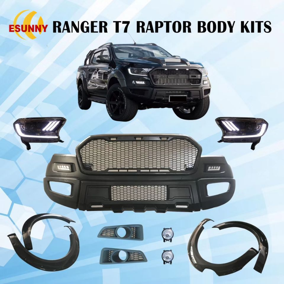Ranger T7 Upgrade To Raptor In 2020 Ford Ranger Body Kit