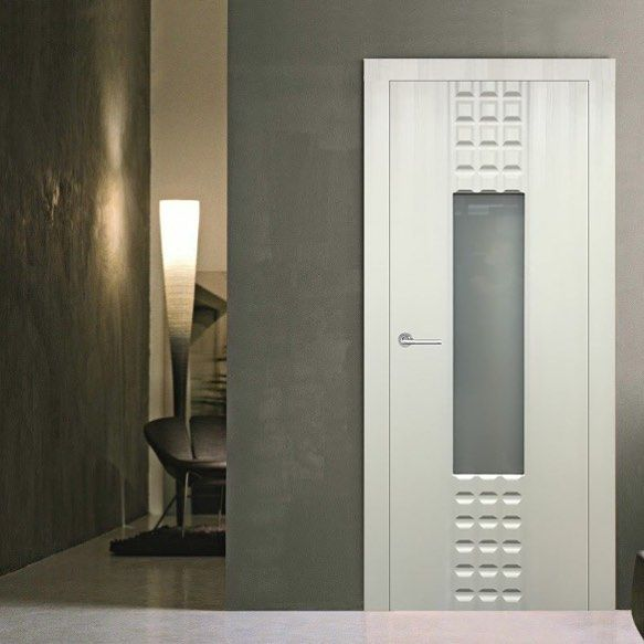 libertywindoorscorp Prima Lux with Frosted Glass in a Satin White Finish Interior Door #doors # & libertywindoorscorp Prima Lux with Frosted Glass in a Satin White ... Pezcame.Com