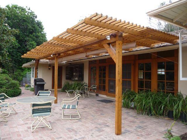 Patio cover ideas wood | Diy patio, Outdoor covered patio ... on Patio Cover Ideas Uk id=29714