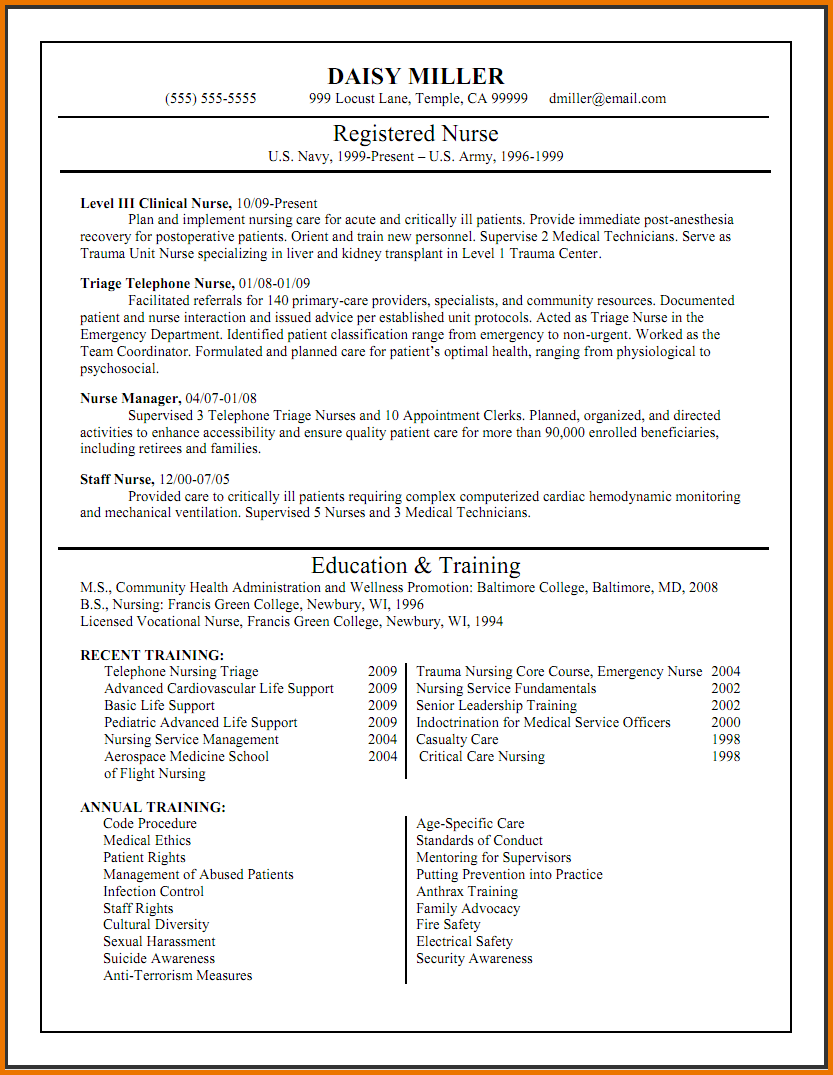 Sample Nursing Resume Graduate Nurse Practitioner Pics