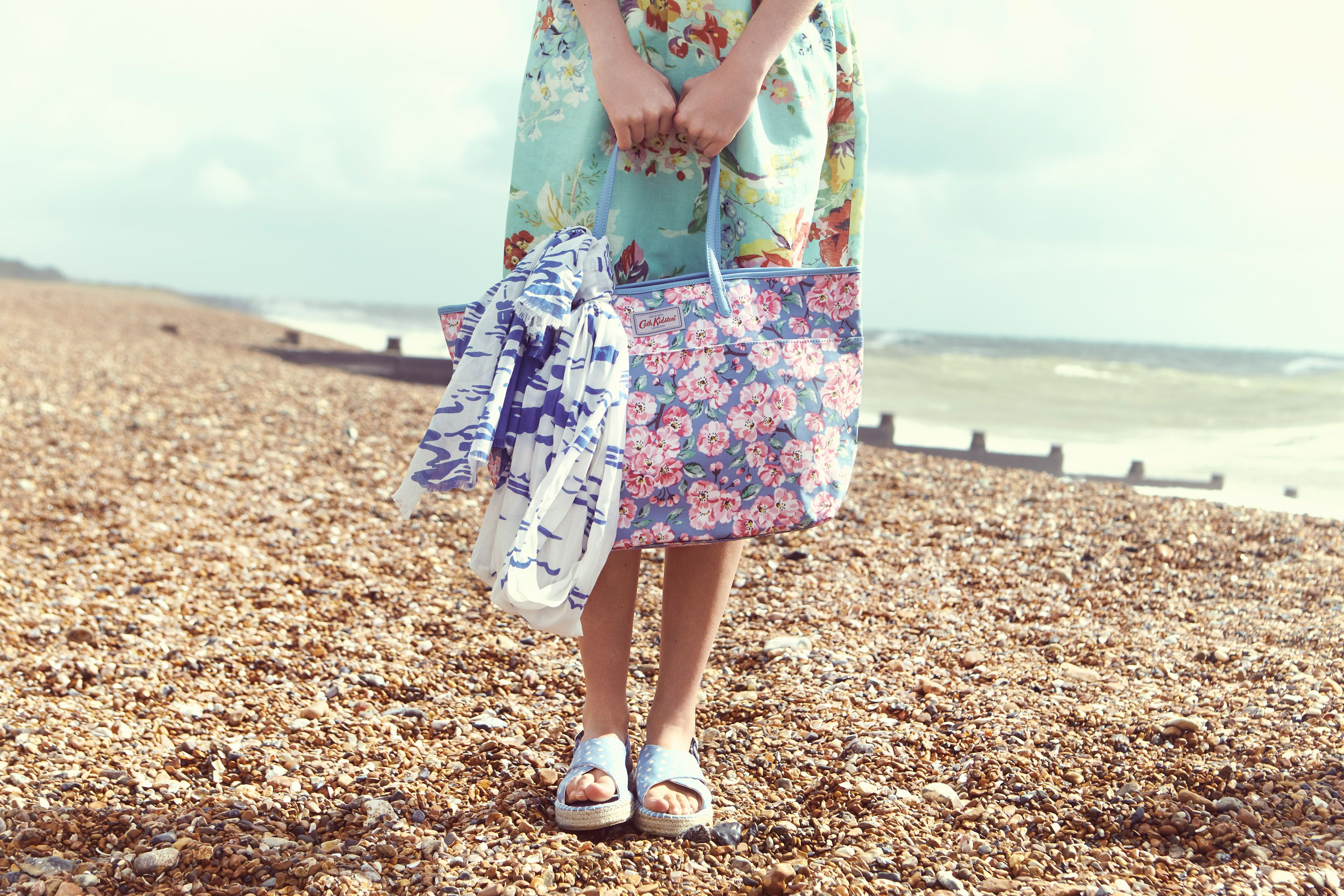Blossom Bunch Large Trimmed Tote   Cath Kidston Spring Summer 2016  