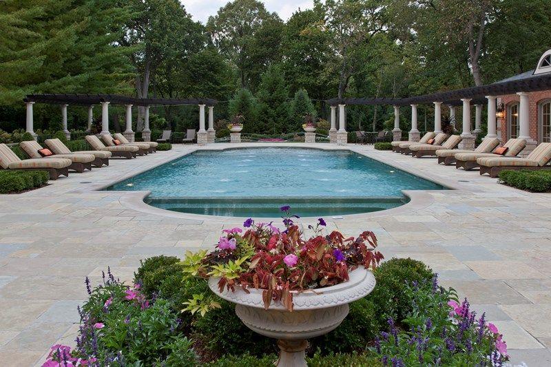 Superieur Classic Roman Pool Design Swimming Pool Zaremba And Company Landscape  Clarkston, MI/Pillars Add