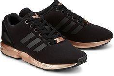 zx flux adidas schwarz