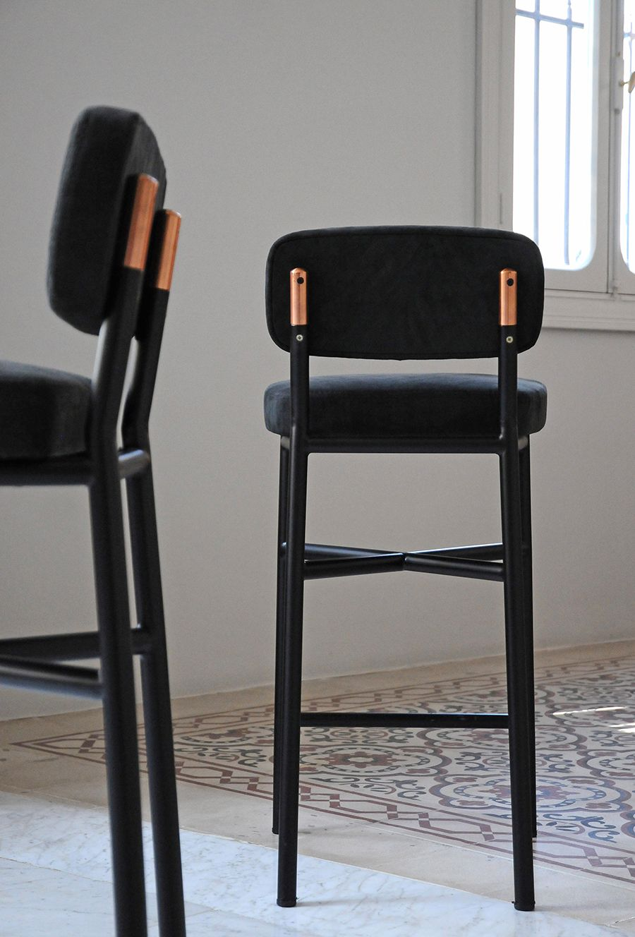 Banqueta Sandalyesi Stoel Stoelen Fauteuil Barkrukken Silla Para Barra Cadeira Stool Modern Tabouret De Moderne Bar Chair Can Be Repeatedly Remolded. Furniture Bar Chairs