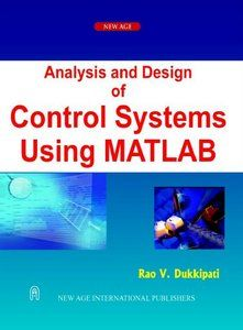 Download Pdf Of Analysis And Design Of Control Systems Using Matlab By Rao V Control Systems Engineering Control System System