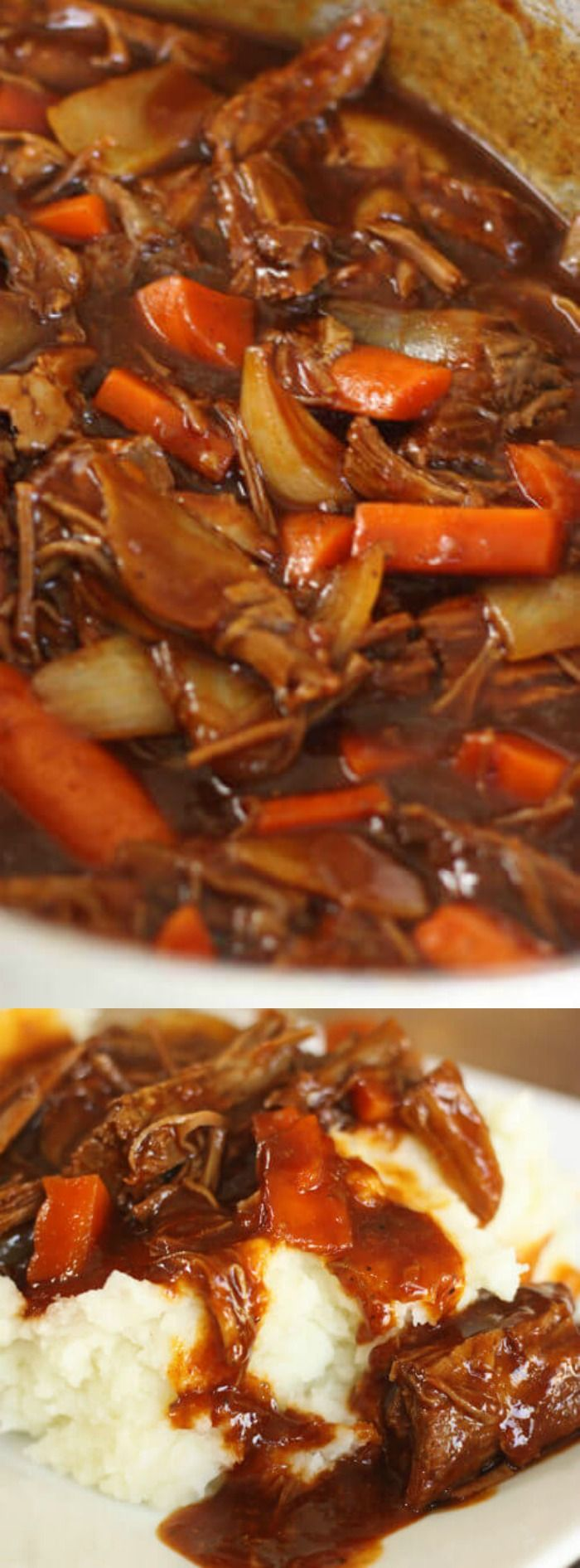 This rich, meaty and so very delicious Danish Goulash recipe from Favorite Family Recipes is sure to be a huge hit at your next Sunday dinner!