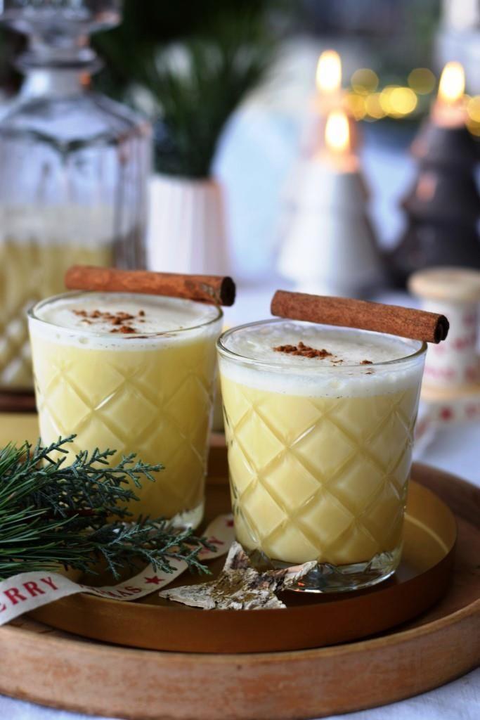 Eggnog, DAS amerikanische Traditionsgetränk for a very merry Christmas! #cocktaildrinks