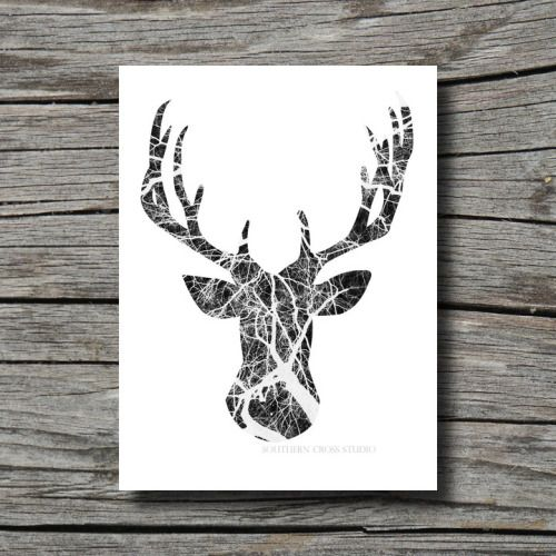 deer head drawing tumblr - photo #25