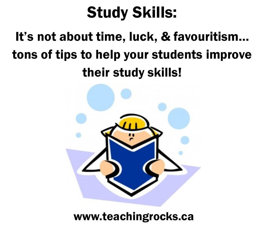 study skills  tons of tips to help your students improve