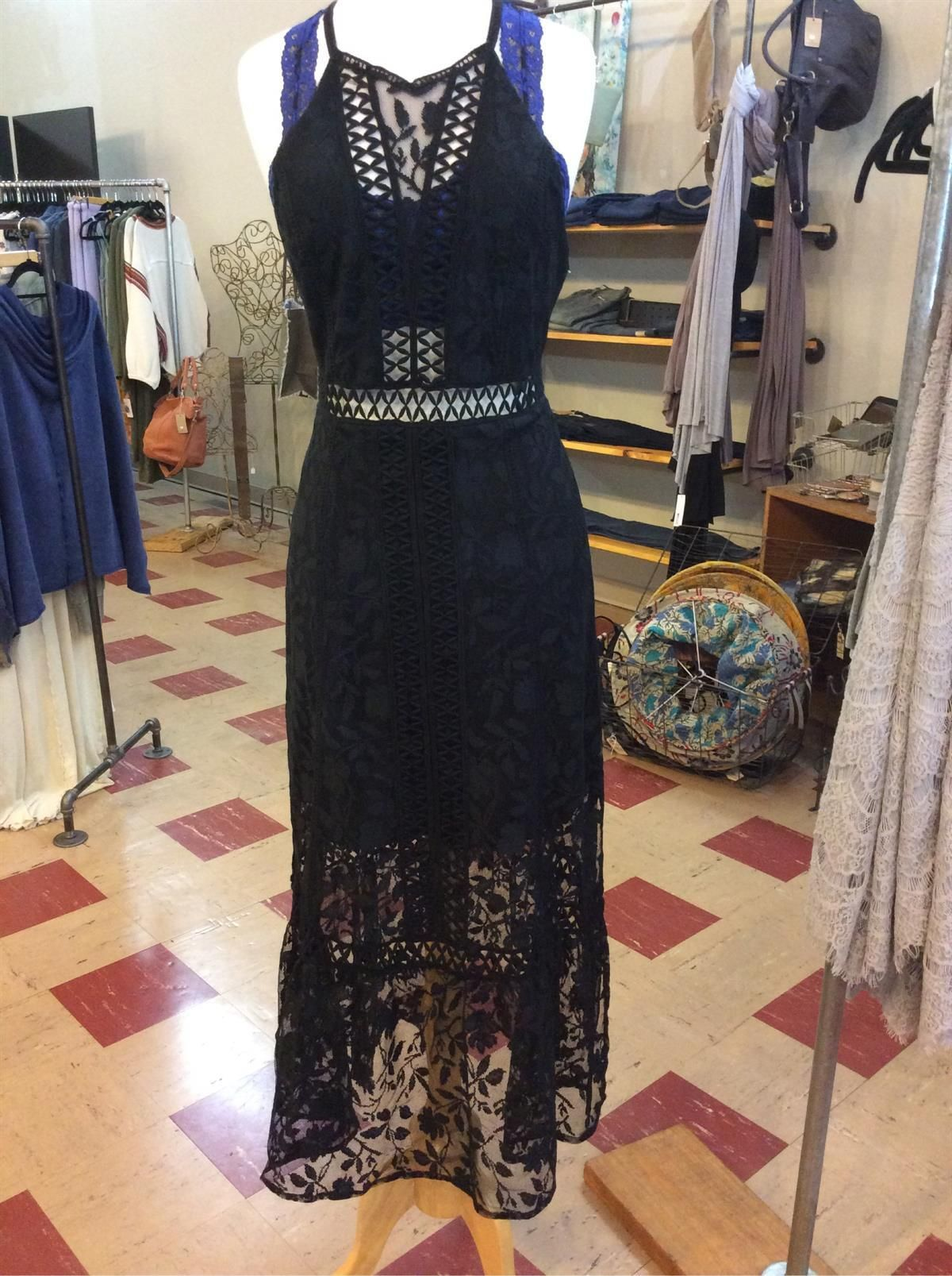 Just arrived. Beautiful lace Free People dress to wear for any event. #Freepeople