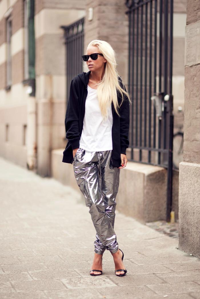 gran descuento 450f7 0b3b6 I love it!: ¿PANTALONES PLATEADOS? | Platinium | Pantalones ...