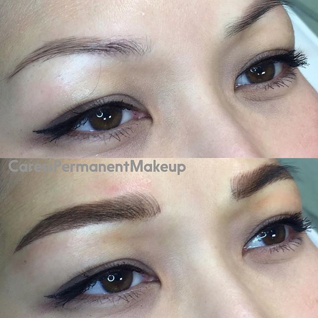 Korean Style Eyebrow Such A Good Color And Shape For This Young