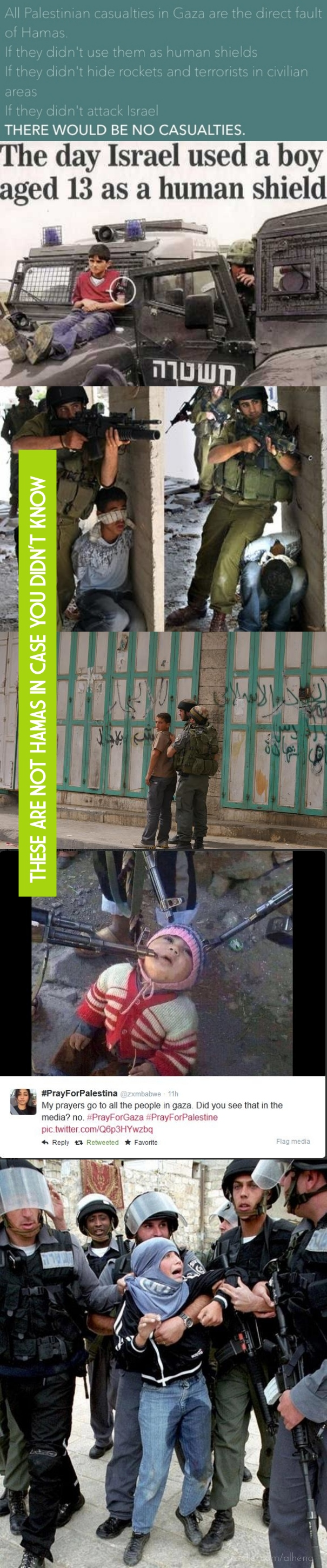 """These are not hamas in case you didn't know ... this is the """"IDF Army, Israeli Defense Forces"""" their claim is """"the most MORAL army in the world"""" What I have to say is """"REALLY???"""" ... kd"""