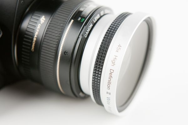 Adapter to make your lens into a wide angle or a macro $50