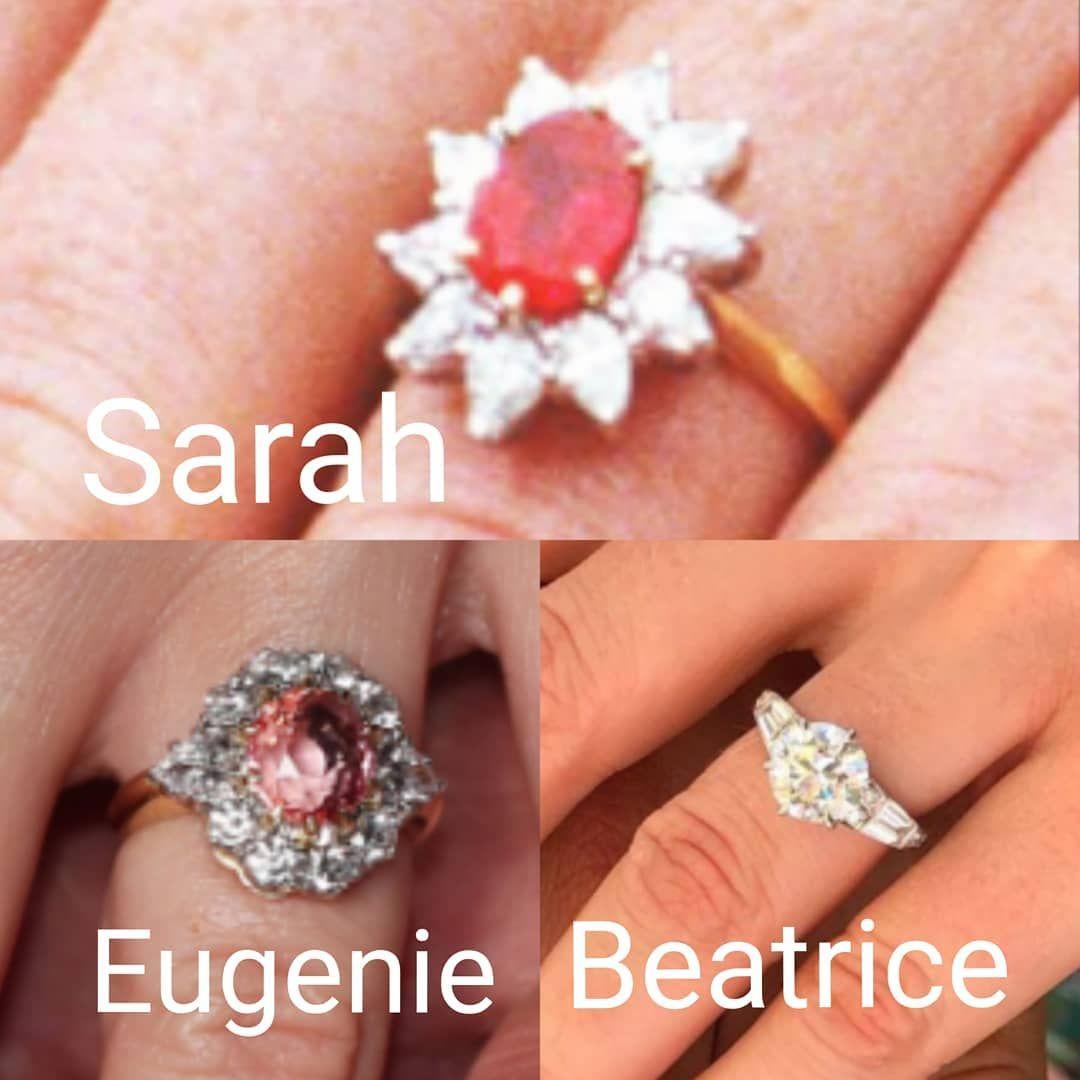 Engagement Rings Dukeofyork Duchessofyork Sarahferguson