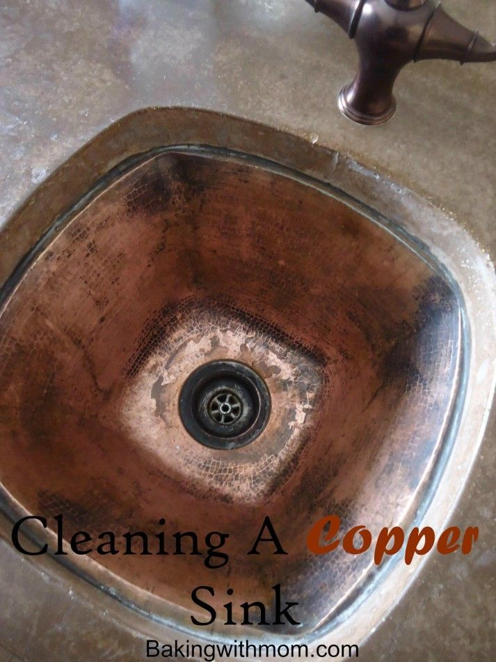 How To Clean A Copper Sink. Cleaning ...
