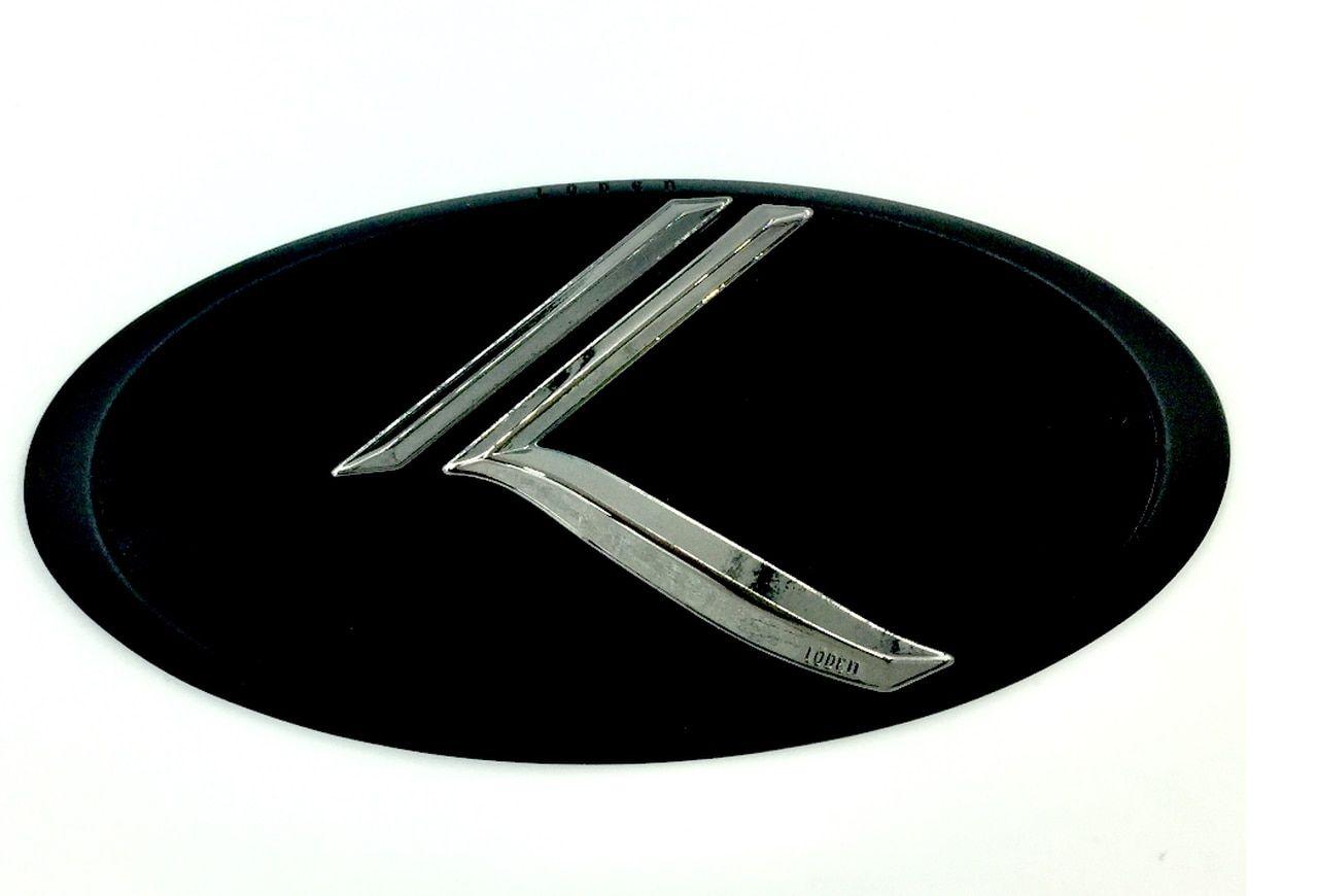 KIA Matte black K Sport logo badge emblem fit KIA OPTIMA
