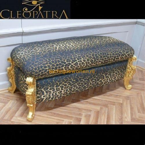 Barok Bankje Cleopatra.Collectie Bankjes Cleopatra Le Chique Wonen Bankjes Cleopatra
