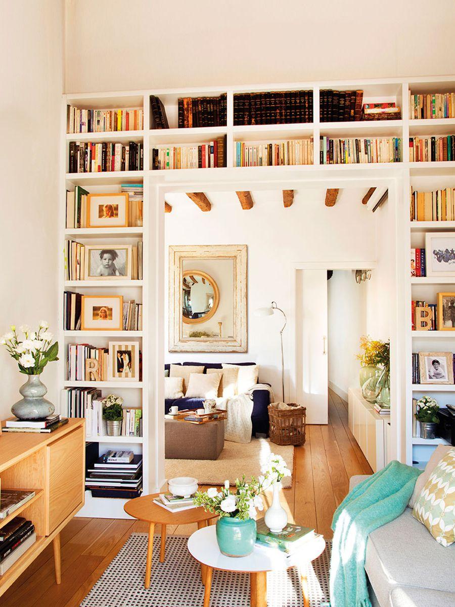 10 tips para decorar espacios pequeños. Diseño de interiores. Sala ...