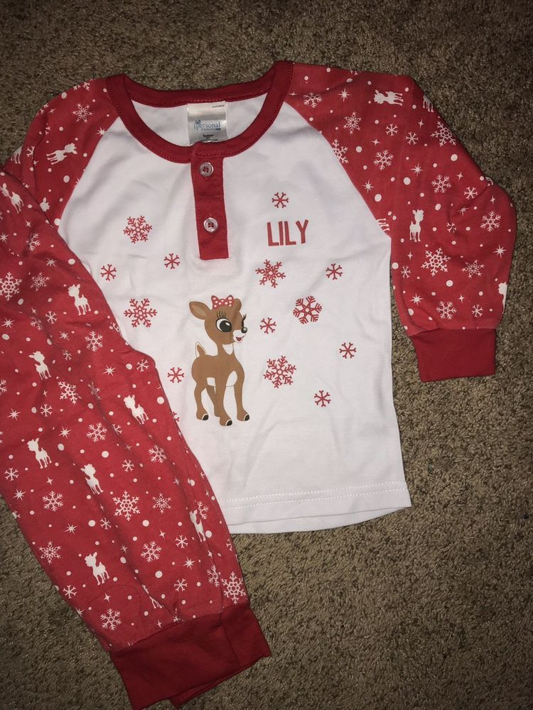 804c72513fc8 Christmas PJs Lily 2T  fashion  clothing  shoes  accessories ...