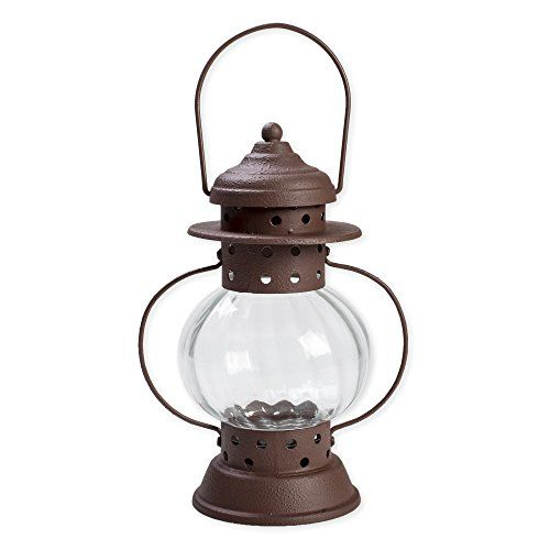 d82c7e5844c Burgundy Jacobs Lantern 10 inch Metal and Glass Decorative Tealight     You  can get