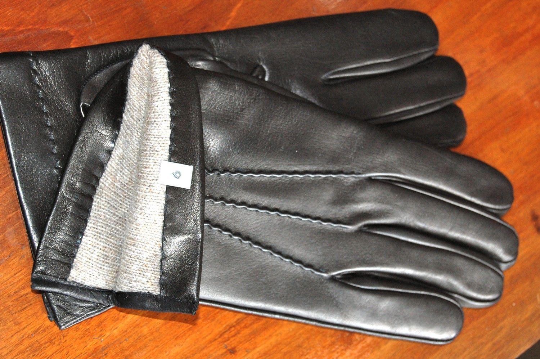 Mens's Black Handmade Italian Leather Gloves. via Etsy ...