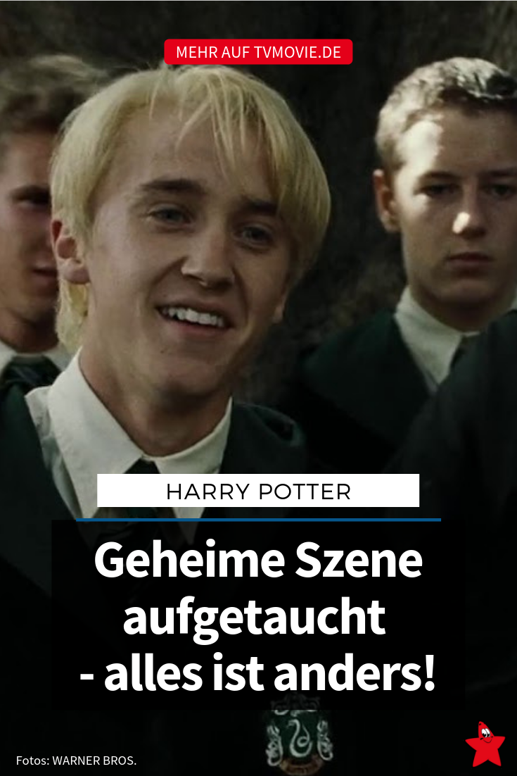 Geheime Szene Bei Harry Potter Aufgetaucht Alles Ist Anders Harry Potter Auftauchen Draco Malfoy