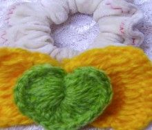 sweet hair bow for valentine