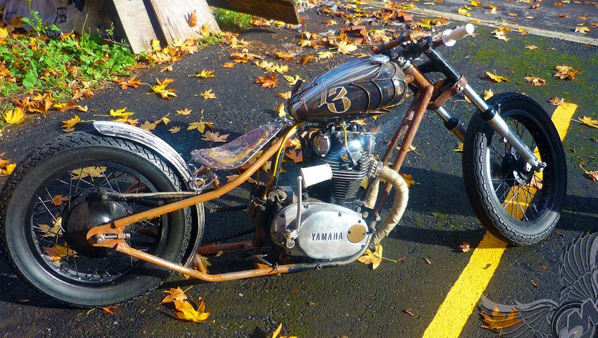 drop seat bobber | ... billy xs650 bobber chopper rock a ...