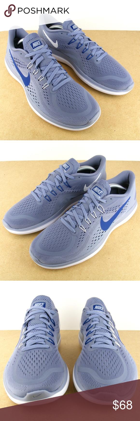 50f35d218de2 Nike Flex 2017 898457 401 Blue Running Shoes 10.5 Nike Flex 2017 RN Running  Sneakers Trainers 898457 401 Dark Sky Blue Mens 10.5 New in box Nike Shoes  ...