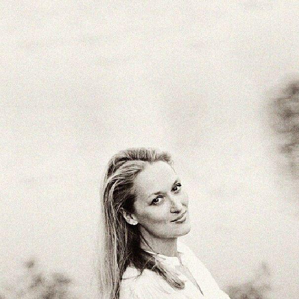 Meryl Streep, what a beauty.