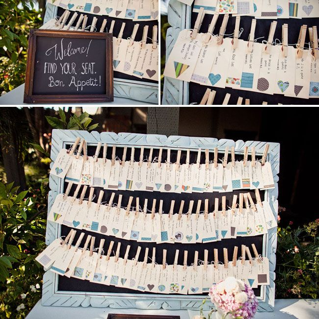 A Whimsical Treehouse Wedding | Wedding seating, Seating charts and ...