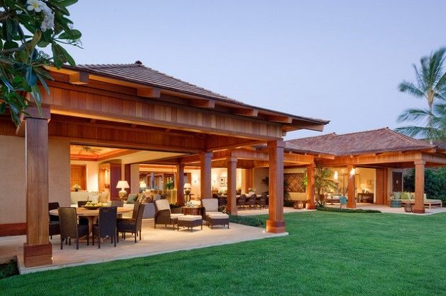 20 Cozy Outdoor Dining Room Design Ideas Backyard Pavilion