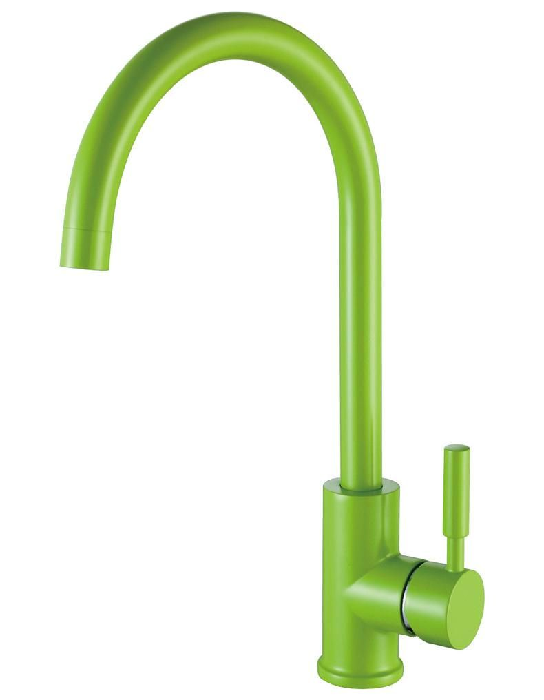 Kitchen Sink Faucets Fashion Basin Tap/Mixer with Brass, Black,White ...