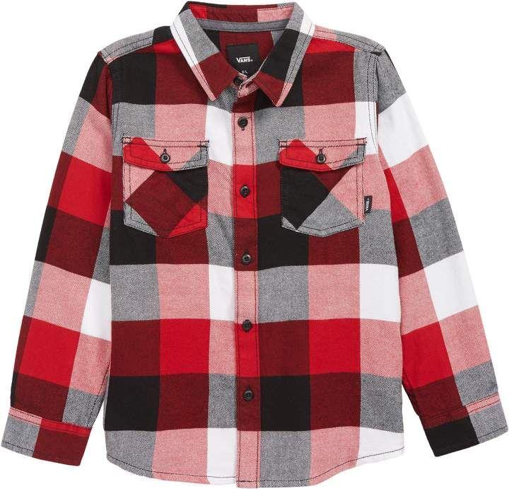 0ba5a5bcca Vans Box Flannel Shirt