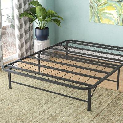Alwyn Home Metal Platform Bed Frame Size Queen Folding Bed