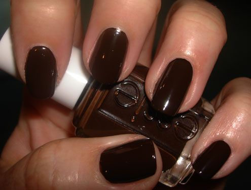 Essie Little Brown Dress - Pampered and Polished   NAILS